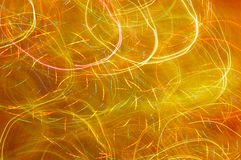 Abstract background glowing. Yellow lite Stock Photography