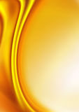 Abstract background of gold Stock Image