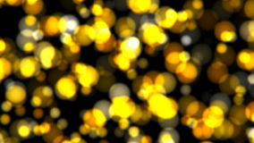 Abstract background with gold bokeh Stock Photo