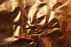 Abstract background of gold brocade Stock Photography