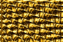 Abstract background with gold foil Royalty Free Stock Photo