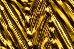 Abstract background of gold leaf. Royalty Free Stock Photography