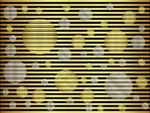 Abstract background gold metallic. Abstract background with a gold metallic element, vector illustration Royalty Free Illustration