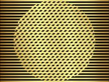 Abstract background gold metallic. Abstract background with a gold metallic element, vector illustration Vector Illustration