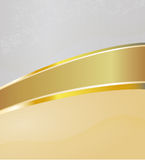 Abstract background with a gold stripe down the mi. Vector background with a stripe separating background into two parts, EPS 10 Stock Photo