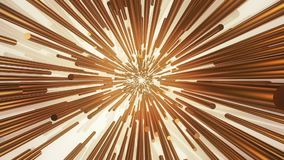 Abstract background golden color on white stock video