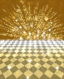 Abstract background. Abstract golden festive card background royalty free illustration