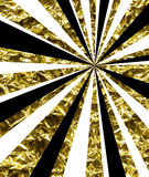 Abstract background with golden rays Royalty Free Stock Photography