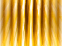 Abstract background golden shiny stripes blur effect speed vertical Stock Images