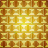 Abstract background with golden squares. Template for design Stock Images