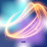 Abstract background gradient with light fire in space Royalty Free Stock Image