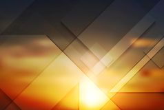 Abstract background. Gradient mesh Royalty Free Stock Image