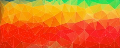 Multicolored Abstract background with gradient polygonal shapes. Abstract background with gradient triangle shapes for web design Royalty Free Stock Image