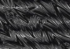 Abstract background in graffiti style. Illustration of abstract background in graffiti style in black and grey colors Stock Image