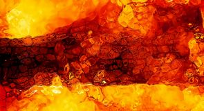 Abstract background graphic, burning fire and flame structures. Royalty Free Stock Photos