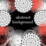 Abstract background. Graphic abstract a background with different elements Stock Image