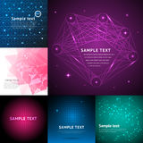 Abstract background graphic digital line colorful modern art geometric wave motion glow vector illustration. Abstract background pattern graphic digital line Stock Images