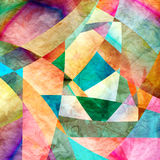 Abstract background. Graphic a abstract background with geometric elements Stock Photos