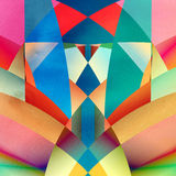Abstract background. Graphic a abstract background with geometric elements Royalty Free Stock Photos
