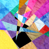 Abstract background. Graphic a abstract background with geometric elements Royalty Free Stock Image