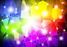 Abstract background with graphics Royalty Free Stock Image