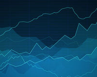 Abstract Background with Graphs Royalty Free Stock Images
