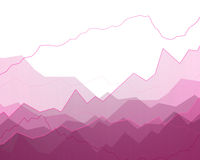 Abstract Background with Graphs Stock Photo