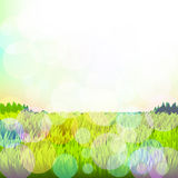 Abstract background with grass and bokeh. Raster. 1 Stock Images