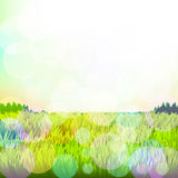 Abstract background with grass and bokeh. Vector. 1. Vector royalty free illustration