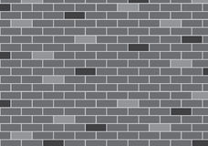 Abstract Background of gray brick wall. Vector design Royalty Free Stock Photos