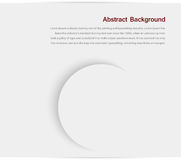 Abstract background. Gray Circles. And design white stock illustration