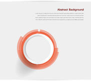 Abstract background. Gray Circles. Pink and white design royalty free illustration