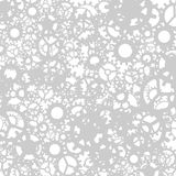 Abstract background from gray gears. Vector illustration Royalty Free Stock Photos