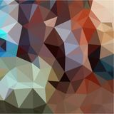 Abstract background from gray and green and brown and yellow color light and dark fragments in the style of low-poly. Abstract background of small triangles Stock Image