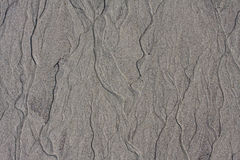 Abstract background of gray sand ripples Stock Photo