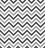 Abstract background. Gray and white chevron seamless pattern. Vector background Royalty Free Stock Images