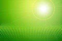 Abstract background green. Dot pattern and lights, vector royalty free illustration