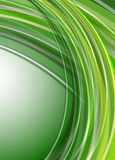 Abstract background green. Lines pattern, vector Stock Photo