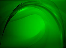 Abstract background green. Green smooth abstract background with shining light vector illustration