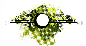 Abstract background - green -. Illustration Royalty Free Stock Photos