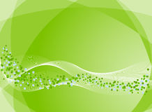 Abstract background in green Stock Images