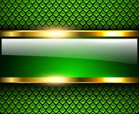 Abstract background green. Abstract background glossy and shiny green metallic, vector illustration royalty free illustration