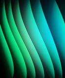 Abstract background green and blue Stock Photography