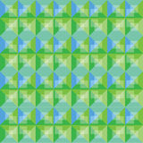 Abstract background green and blue pattern design Royalty Free Stock Photos
