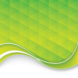 Abstract background. Green abstract business brochure.Vector stock illustration