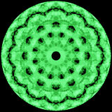 Abstract background with green circle. Raster Royalty Free Stock Photography