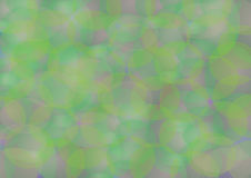 Natural harmony. Abstract background with green color Stock Illustration
