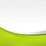 Abstract background in green color. Vector illustration for your design Stock Images