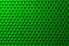 Abstract background with green cubes pattern Stock Images