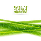 Abstract background. With green elements royalty free illustration